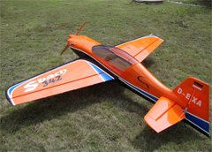 Skyline SBach 342 30CC 73''/1860mm Pre-hinged Carbon Fiber Aerobatic RC Airplane B